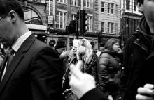 Malgosia Magrys. Street photography_Urban hustel_LONDON 4 / Solitudes urbaines_Londres 4. Documentary photography