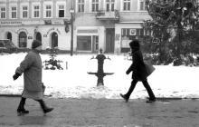 """Malgosia Magrys. Street photography_""""One step"""" """"Un pas""""_ Rzeszów. Documentary photography"""